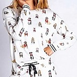 Hipster Hounds Pajama Set