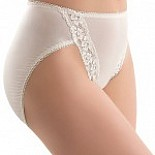 89371 Wacoal Lace Leg Hi Cut Brief