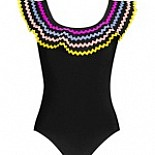 Zola Round Neck Swimsuit with Underwire 334-770