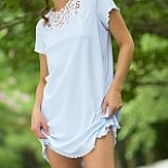 Juliette Short Sleeve Short Gown