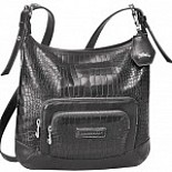 Legende Crocco Flat Crossbody Bag