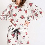 Lovegram Thermal Pajama Set