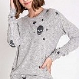 Stars and Skulls Pajama Set