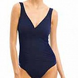 Karla Colletto Surplice Neck One Piece Bathing Suit 209-S70