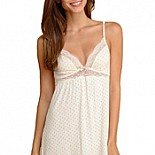 Eberjey Open Hearted Chemise S1362