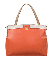 Piper Lux Large Shoulder Bag in Vitamina