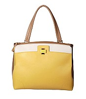 Piper Lux Medium Shoulder Bag in Sole Yellow