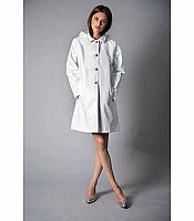 Jane Post Mini Princess Slicker with Detachable Hood