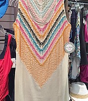 Poly Crinkle Chiffon Cover Up