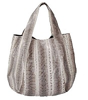 Jenna bag in Grey White snakeskin