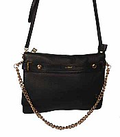 Botkier Leroy Clutch in Black with Gold Hardware 14F0551