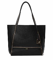 Botkier Soho Tote in Black with Gold Hardware