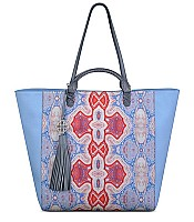 Joey Tote in Agate Blue