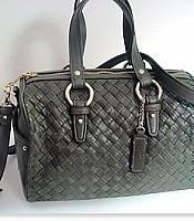 Heritage Weave Jade Hand Bag