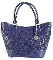 Optical Weave Serena Small Tote