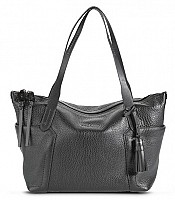 Parker Leather Small Zip Top Shopper