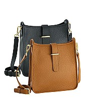 Elle Crossbody in Pebble Grain Leather