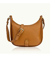 Casey Saddle Bag in Pebble Grain Leather