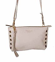 Hammitt Getty Lux in Beige with Gold Hardware