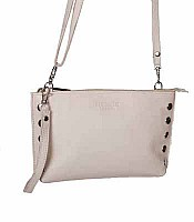 Hammitt Getty Lux in Beige with Silver Hardware