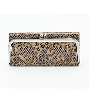 Rachel Diamond Snake Wallet