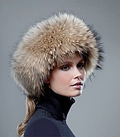 Fur Ring Winter Hat