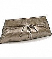 Lamb Leather Louise Clutch