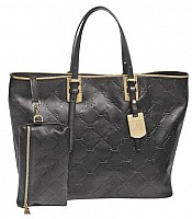 LM Cuir Medium Shoulder Tote COLORS ON SALE