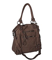 Dylan Tote with gunmetal hardware
