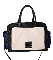 See By Chloe Color Block Top Zipper Bag