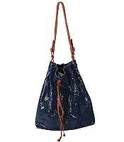 Danielle Drawstring Hobo Bag