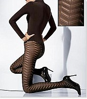 Wolford Chevron Tights