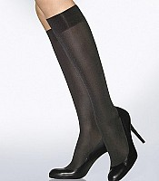 Satin Opaque 50 Knee Highs