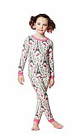 Hello Kitty Eiffel Tower Stretch Long Sleeve Kids PJ 2010-K-4013