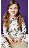 Cafe du Paris Stretch Kids' L/S 2pc PJ 2010-K-2522