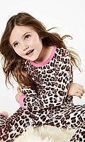 Hello Kitty Leopard Stretch Kids' L/S 2pc PJ 2010-K-4017