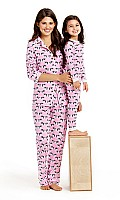 Pink Go Fetch Girls Snug Fit Classic PJ 2010-KG