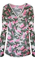Camo Cool Long Sleeve Nightshirt