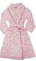 Sheep Robe in Pink