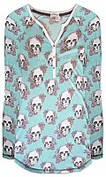 Floral Skully Nightshirt
