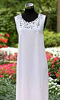 Juliette Lace Embroidered Sleeveless Long Gown
