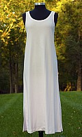 Opus Sleeveless Tank Long Gown in Plus Sizes