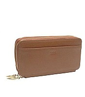 Tusk Madison Double Zip Clutch LA443