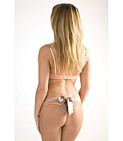 Tinkerbell Bow Back Thong