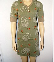 Scanty Skulls and Cherries Short Nightgown
