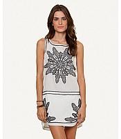 Sofia Solid Whie Gala Short Dress