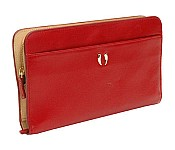 Donington Napa Snap Clutch Wristlet Wallet CD354