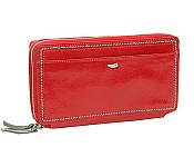 Tusk Capri Double Zip Checkbook Clutch PW443