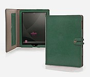 iPad Tabbed Folio with Easel in Aniline Leather