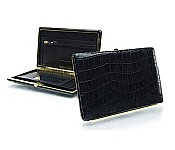 Full Frame Clutch Wallet in Vintage Croc